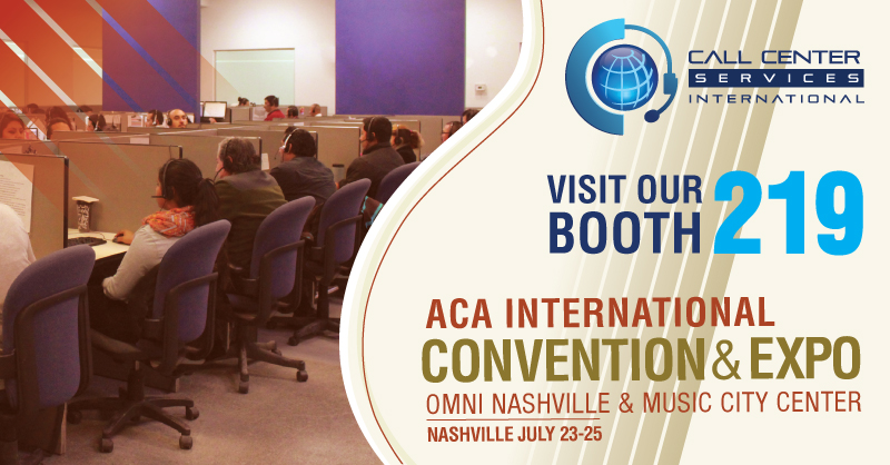 Let's Meet At The ACA International 2018 Convention & Expo