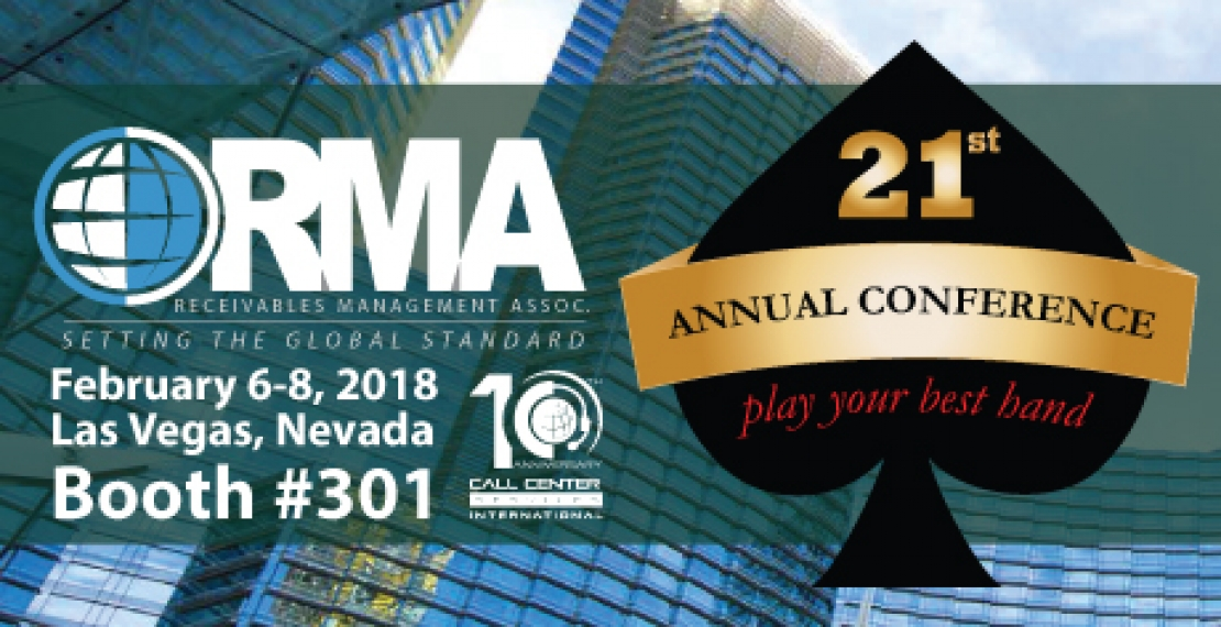 Meet Us At The 2018 RMA International Annual Conference