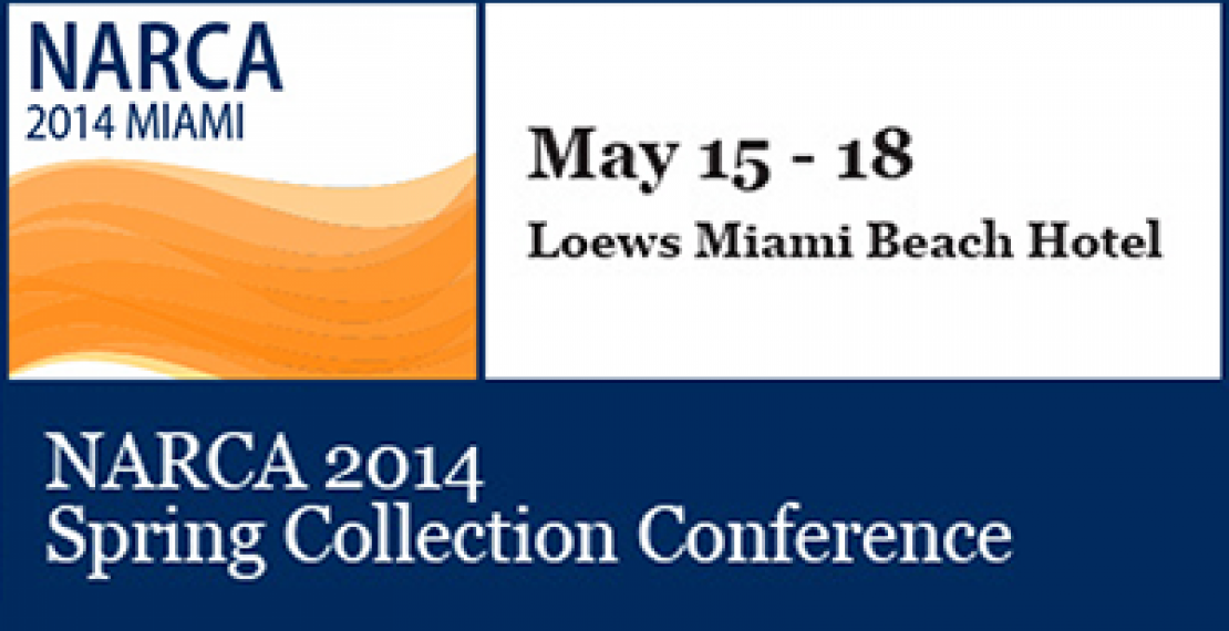 Meet Us At The NARCA 2014 Spring Collection Conference