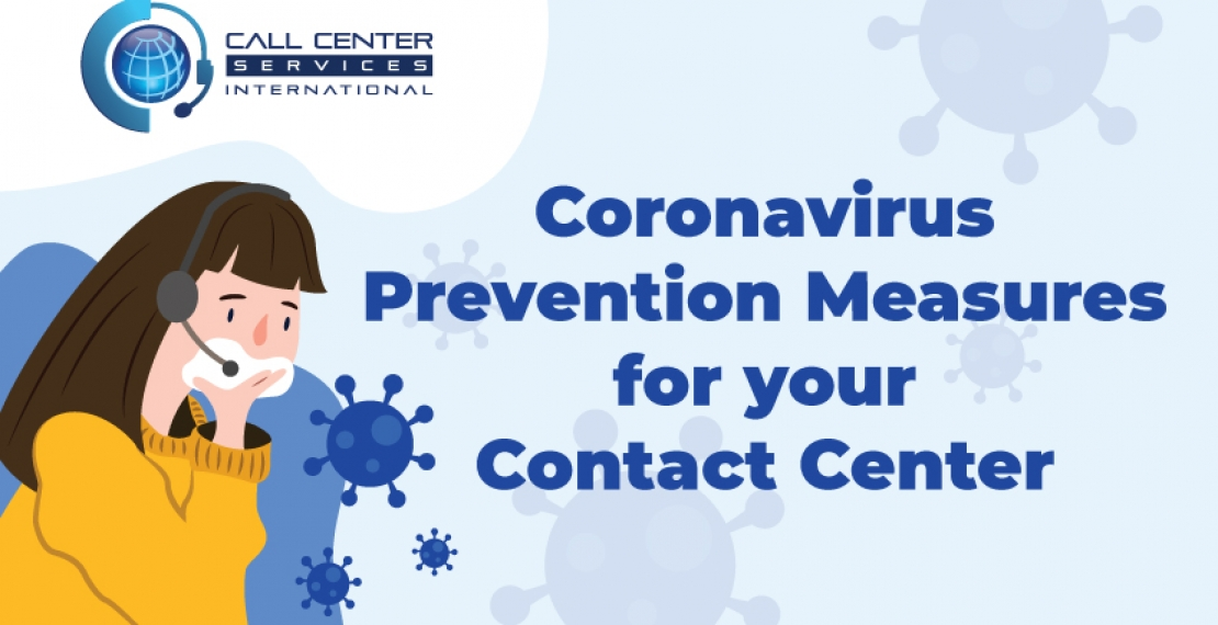 Coronavirus Prevention Measures for your Contact Center