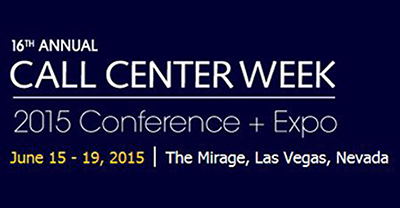 Meet Us At Call Center Week 2015