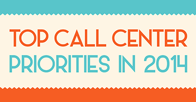 Top Call Center Priorities In 2014 [INFOGRAPHIC]