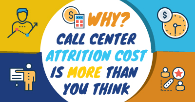 Call Center Attrition Cost More Than You Think