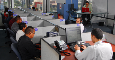 Nearshore contact center